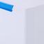 Schuhkipper Cubu Weiß-blau - Blau/Weiß, MODERN, Kunststoff (29/35,5/39,9cm)