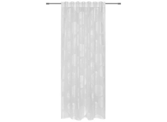 Fertigvorhang Tonia - Weiß, MODERN, Textil (140/245cm) - Luca Bessoni