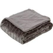 Kuscheldecke Emma - Grau, KONVENTIONELL, Textil (150/200cm) - Ombra