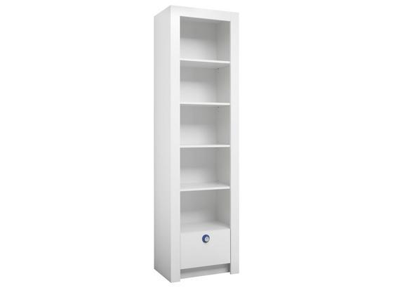 Babyregal Paula 54 cm Weiß - Weiß, MODERN, Holzwerkstoff (54/195,5/38,8cm)