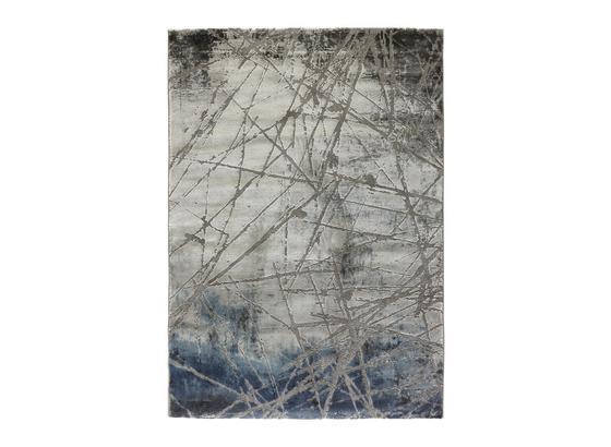 Tkaný Koberec Manchester 1 - modrá/sivá, Moderný, textil (80/150cm) - Mömax modern living