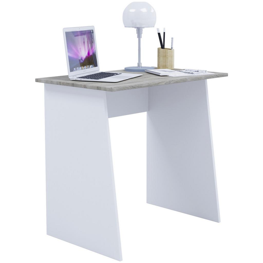 Písací Stôl Masola Mini 80cm Dub/biela