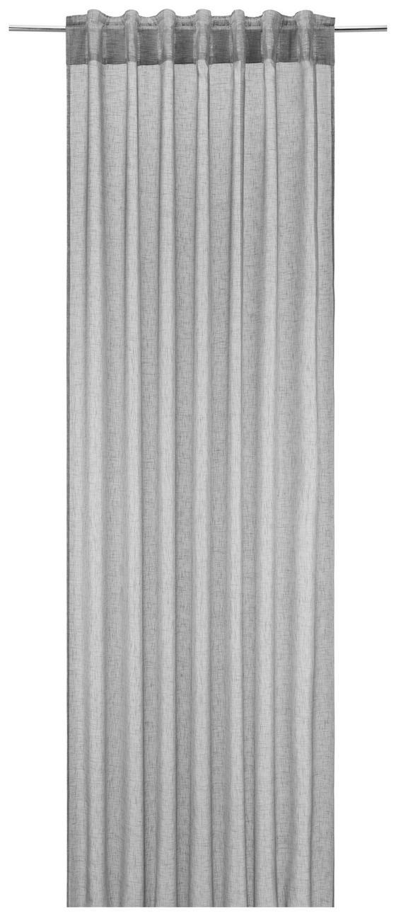 Závěs Mila, Ca. 140x245cm - antracitová, Konvenční, textil (140/245cm) - Mömax modern living