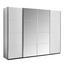 Skriňa S Posuvnými Dverami Bensheim 361x211cm - biela, Moderný, kompozitné drevo (361/211/62cm) - James Wood