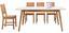 Jedálenský Stôl Durham - hnedá/biela, drevo/kompozitné drevo (180/76/90cm) - Mömax modern living