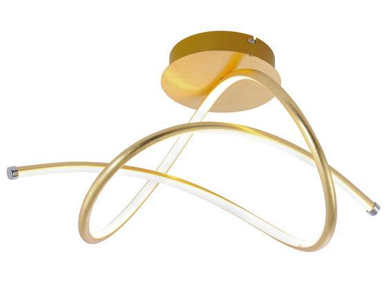 Led Stropná Lampa Violetta - zlatá, kov/plast (51/28/30cm)
