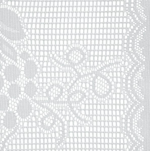 Készfüggöny Lace - fehér, konvencionális, textil (60/90cm) - OMBRA