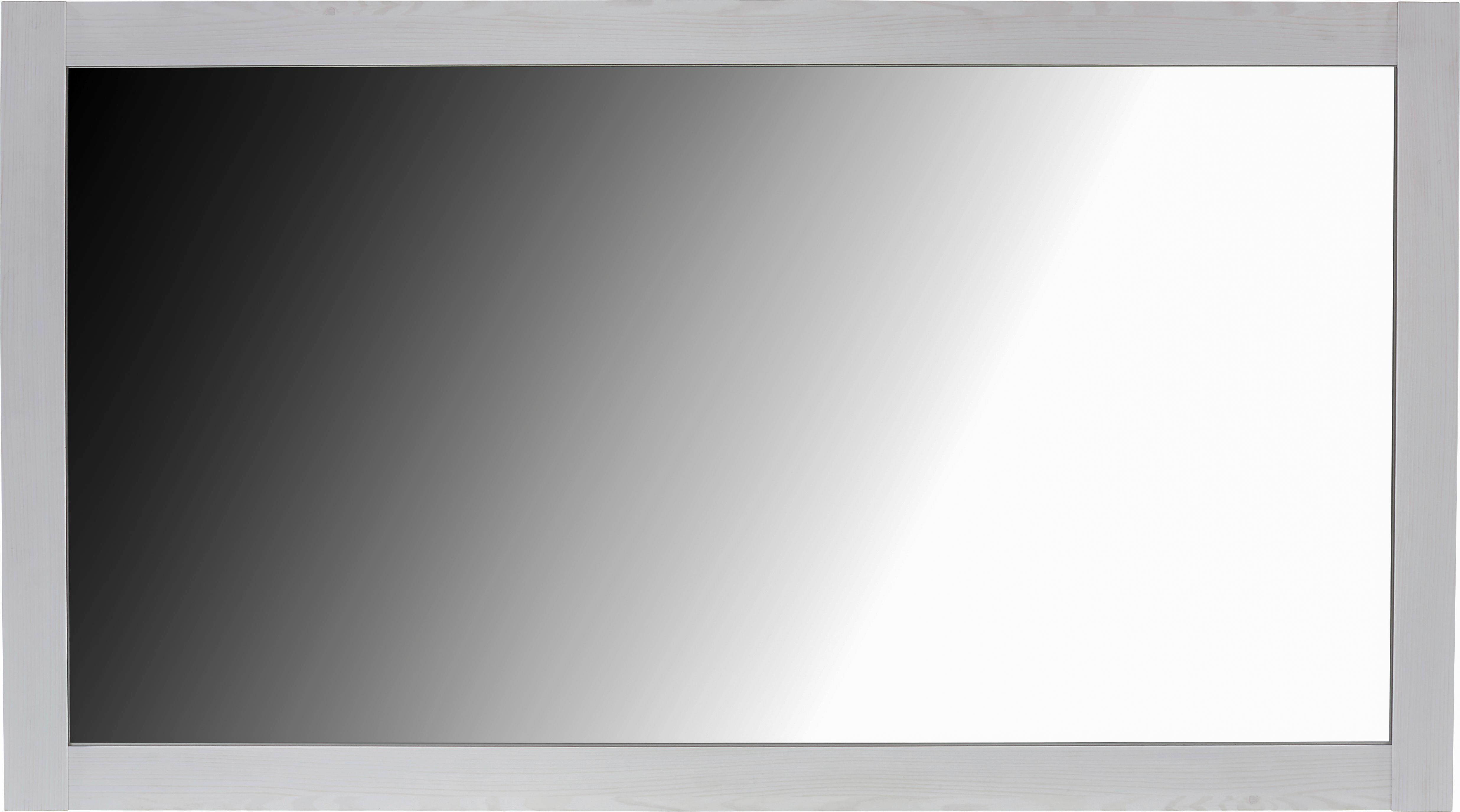 Tükör Provence - fehér, romantikus/Landhaus, üveg/faanyagok (138,1/75/2cm) - JAMES WOOD