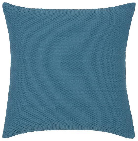 Polštář Ozdobný Malmö - modrá, textil (45/45cm) - Mömax modern living