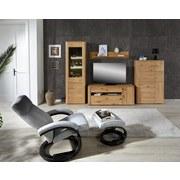 TV-Element Buffalo - Eichefarben, KONVENTIONELL, Holz/Holzwerkstoff (150/59/50cm)