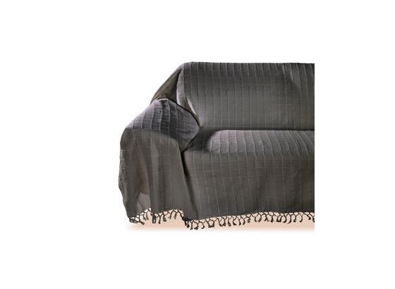 Ágytakaró Irina - Szürke, konvencionális, Textil (210/260cm) - Ombra