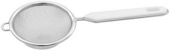 Küchensieb Fackelmann, DM 7 cm - Silberfarben, KONVENTIONELL, Metall (7cm) - Homeware