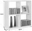 Regál Nástěnný Alex  *cenový Trhák* - bílá, Moderní, kompozitní dřevo (60/60/18cm)