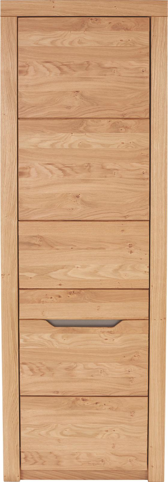 Szekrény Pure - modern, fa/faanyagok (64/197/38cm)