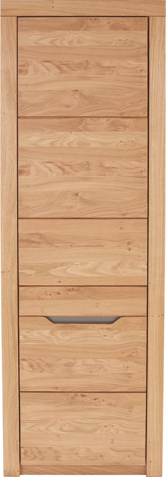 Szekrény Pure - modern, Faalapú anyag/Fa (64/197/38cm)