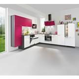 Eckküche Win - Pink/Eichefarben, Holzwerkstoff (285/325cm) - EXPRESS