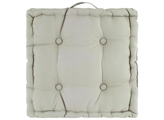 Sedák Na Stoličku Ninix - svetlosivá, textil (40/40/10cm) - Mömax modern living
