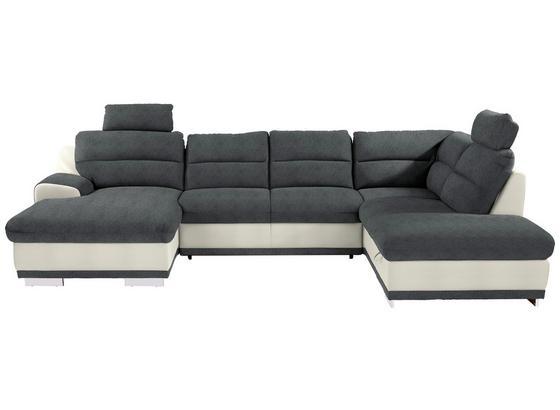 Sedací Souprava Seaside - šedá/bílá, Konvenční, textil (165/334/218cm) - Luca Bessoni