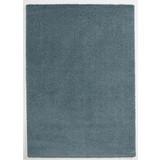 Hochflorteppich Soft, 120/170 - Blau, MODERN, Textil (120/170cm)