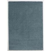 Hochflorteppich Soft, 80/150 - Blau, MODERN, Textil (80/150cm)