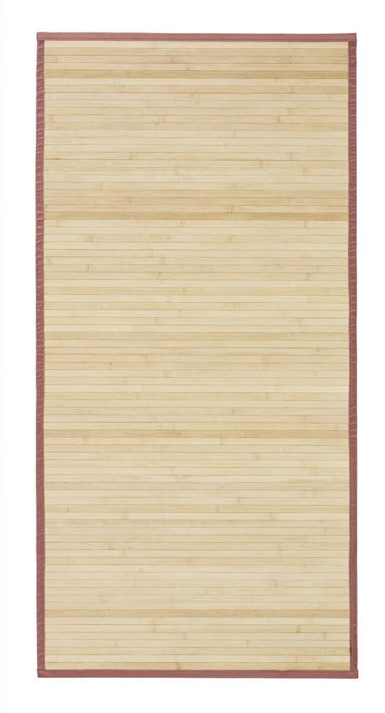 Koberec Natascha - hnědá, Konvenční, dřevo (70/140cm) - Mömax modern living