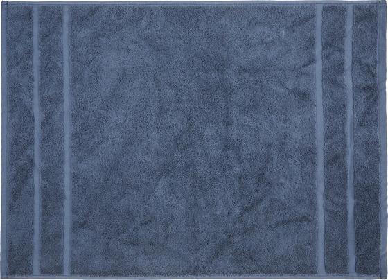 Předložka Koupelnová Melanie Dunkelblau 50x70cm - tmavě modrá, textil (50/70cm) - Mömax modern living