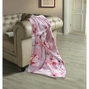 Kuscheldecke Orlanda - Rosa, ROMANTIK / LANDHAUS, Textil (130/180cm) - James Wood