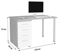 Schreibtisch AVENSIS Maße