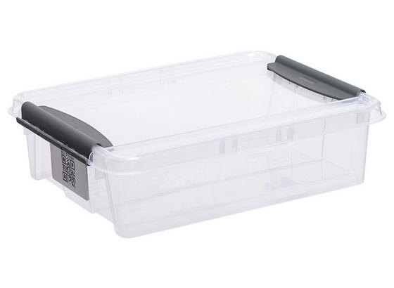 Uskladňovací Box Chaos - transparentné, Moderný, plast (39/29/10,8cm)