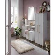 Spiegelschrank Sarah Weiß B: 50,4 cm - Weiß, KONVENTIONELL, Glas/Holzwerkstoff (50,4/72,3/16cm) - MID.YOU