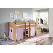 Spielvorhang 3-teilig Weiß/ Flieder - Flieder/Weiß, Design, Textil