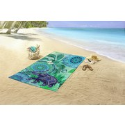 Strandtuch Isara - Multicolor, Basics, Textil (100/180cm)