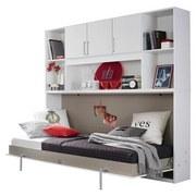Überbauregal Albero 212 cm Weiß - Weiß, KONVENTIONELL, Holzwerkstoff (212/93/38cm)