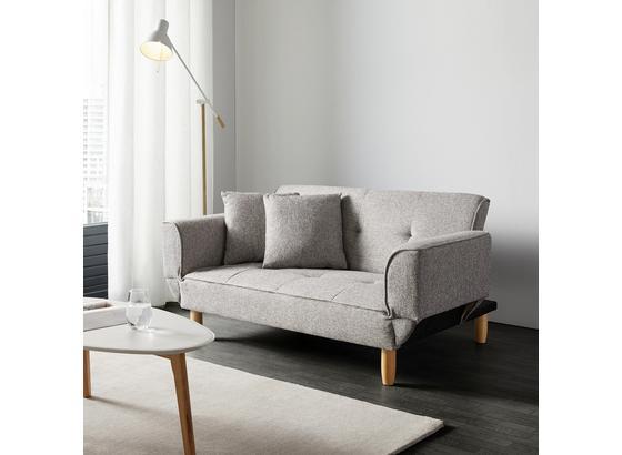 Pohovka S Rozkladom Miriam - svetlosivá, Moderný, drevo/textil (160/65/85cm) - Mömax modern living