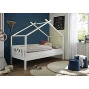 Spielbett Leonie 90x200 cm Weiß - Weiß, MODERN, Holz (90/200cm) - Livetastic