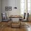 Jídelní Židle Tobias - světle šedá/barvy chromu, Moderní, kov/textil (44,5/101/55cm) - Modern Living
