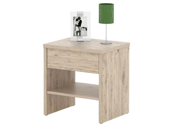 Nočný Stolík Jupiter - Konvenčný, kompozitné drevo (44/46,7/36cm)