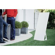 Outdoor Infrarot-Heizpaneel Areapro Warm 900W 120x60x27cm - Weiß, MODERN, Metall (120/60/27cm)