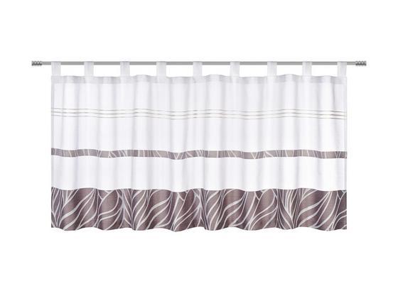 Záclona Krátká Anita - šedá, Konvenční, textil (50/145cm) - Mömax modern living