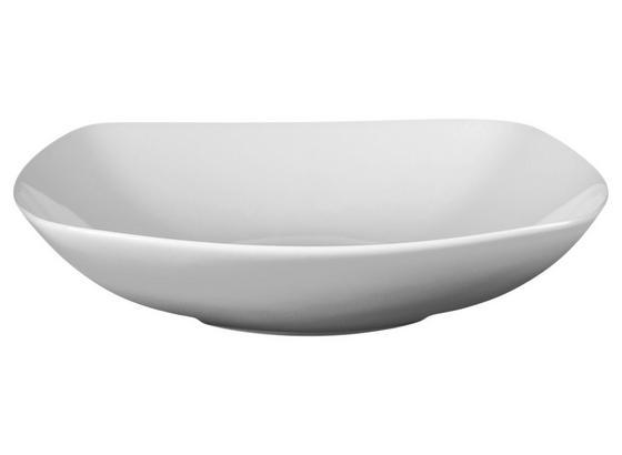 Suppenteller Maya 20 cm - Weiß, MODERN, Keramik (20/20cm) - Luca Bessoni