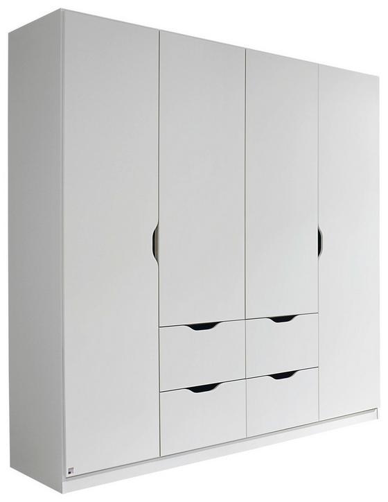 Kombischrank Freising 181 cm Weiß - Weiß, MODERN, Holzwerkstoff (181/197/54cm)