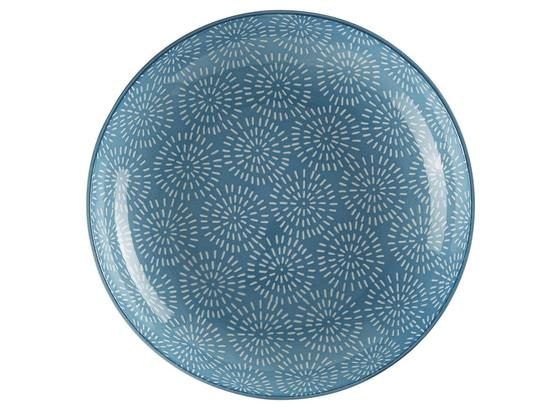 Tanier Na Polievku Nina - modrá, keramika (21cm) - Mömax modern living