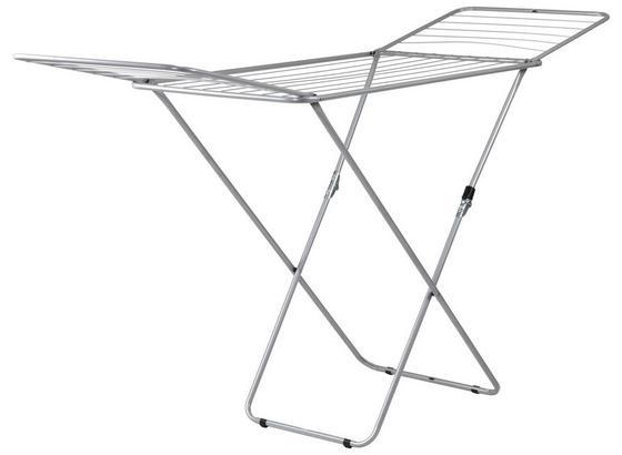 Ruhaszárító Kolibri - Ezüst, konvencionális, Fém (180/55/93cm) - Homezone