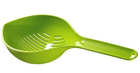 Szűrőkanál Zöld - (14/7/32cm)