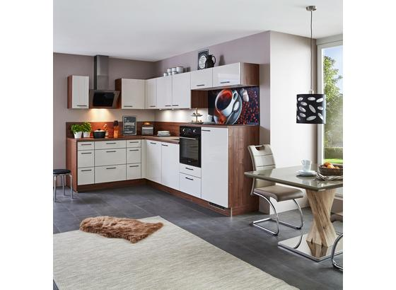 Eckküche Star 187x320cm Crema/nussbaum Tabak online kaufen ➤ Möbelix