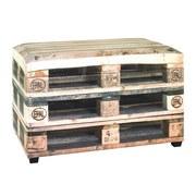 Truhenbank Chest B: ca. 65 cm - Naturfarben, Basics, Holzwerkstoff/Textil (65/42/40cm)