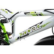 Mountainbike Mtb Atb Fully 26'' Zodiac 576m - Weiß/Grün, Basics, Metall (180/70/100cm)