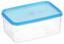 Frischhaltebox 0,5 Liter - Blau/Rot, KONVENTIONELL, Kunststoff (9.5/6.2/14cm)