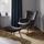Relaxačné Kreslo Merlin - tmavosivá, Moderný, drevo (70/66/93/43/80/43,5cm) - Modern Living