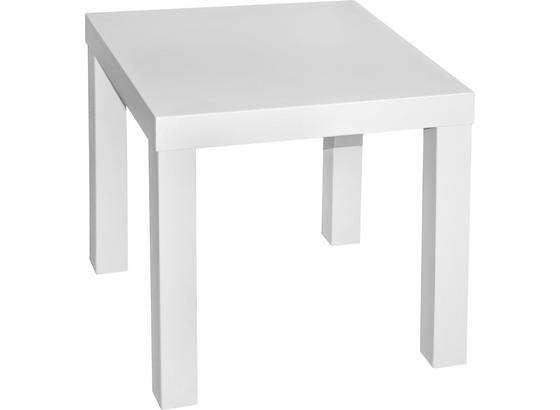 Kisasztal Normen - Fehér, modern, Faalapú anyag (39/40/39cm)
